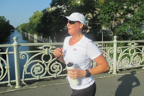 Mauerweglauf-Läuferin