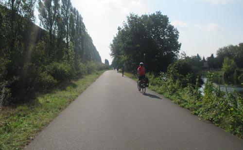 Zwischen Teltowkanal und Autobahn