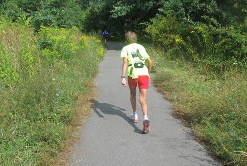 100-Meilen-Läuferin