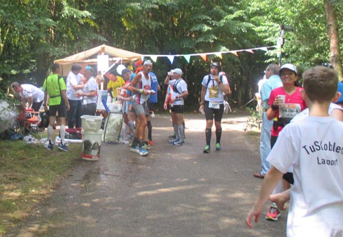 VP7 Kirchhainer Damm km 42,3 – Der Marathon ist geschafft