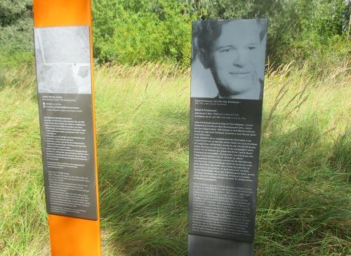 Gedenkstele an das Maueropfer Eduard Wroblewski