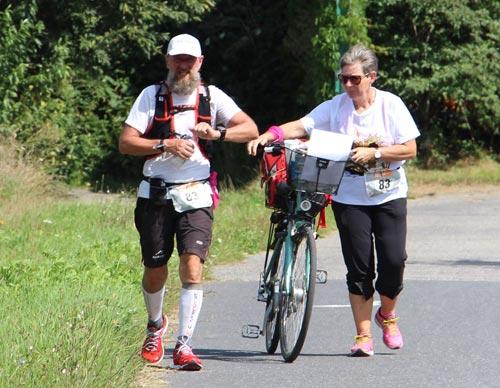 Läufer der 100 Meilen von Berlin