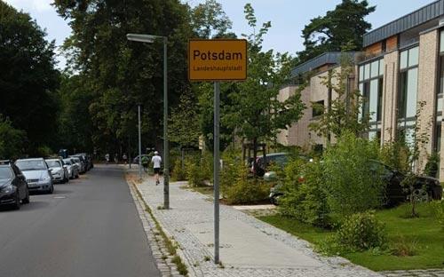Etappe-2-Mauerwegläufer in Potsdam