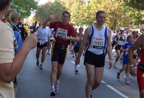 Erster Marathon 2005