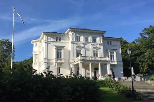 Nolhaga slott in Alingsås