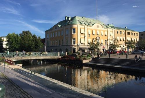 Im Zentrum von Alingsås