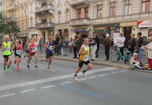 Schnelle Marathonläufer