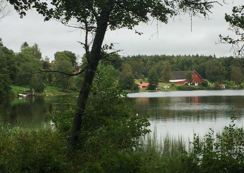 Läufer-Blick auf den Rydbosjön