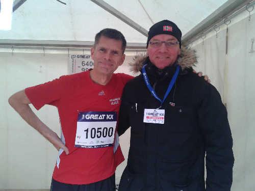 Läufer und Helfer