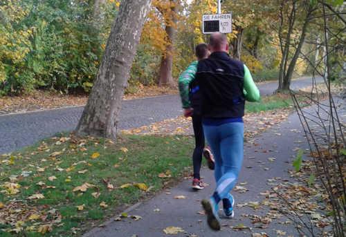 Tempokontrolle für Sonntagsläufer