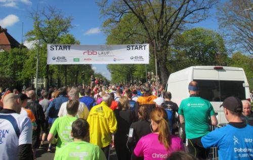 Start rbb-Lauf 2017