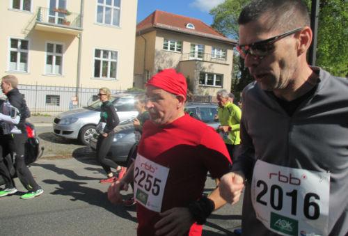 Läufer kurz nach dem Start
