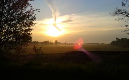 Sonnenaufgang Freizeitpark Marienfelde