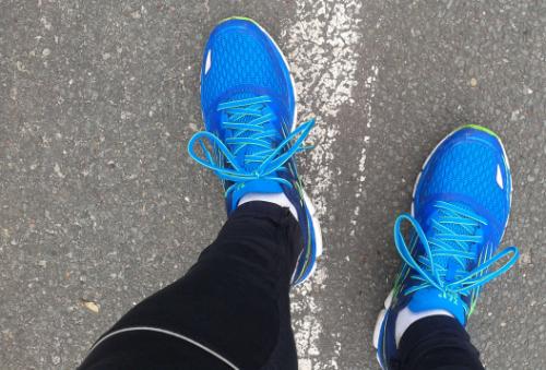 Läufer mit Laufschuhen 361° Sensation 2