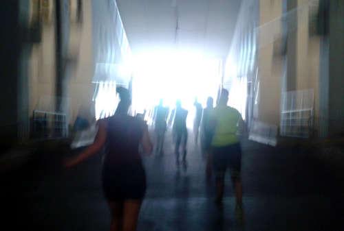 Licht am Ende der Tiefgarage
