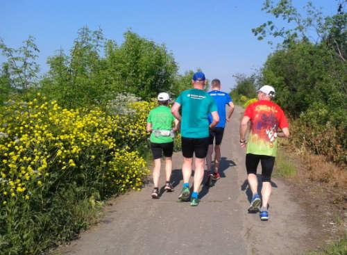 Laufen mit der Trainingsgruppe 1