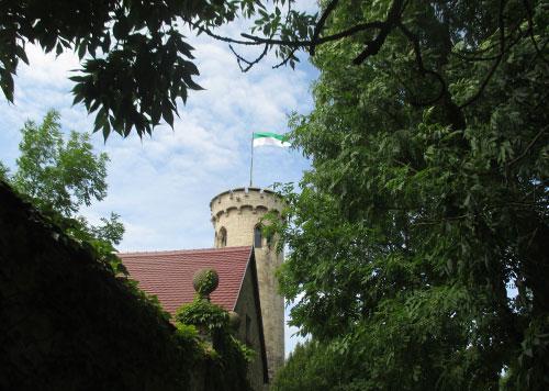 Wasserturm in Zscheiplitz