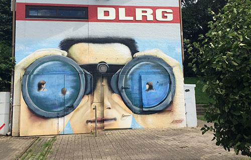 Wandmalerei DLRG