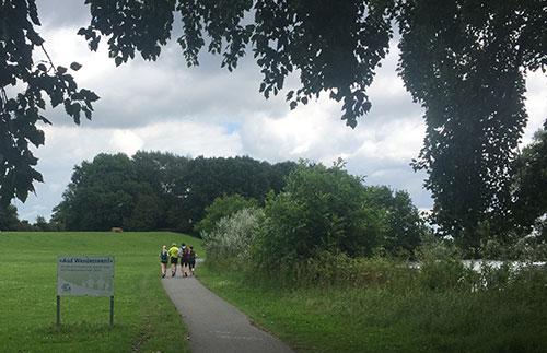 Läufer vom weyher Lauftreff am Werdersee