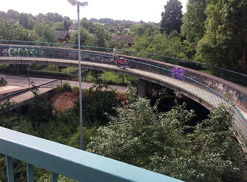 Schneckenrampe Erdbeerbrücke