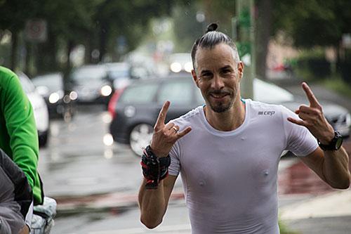 Läufer der 100 Meilen Berlin