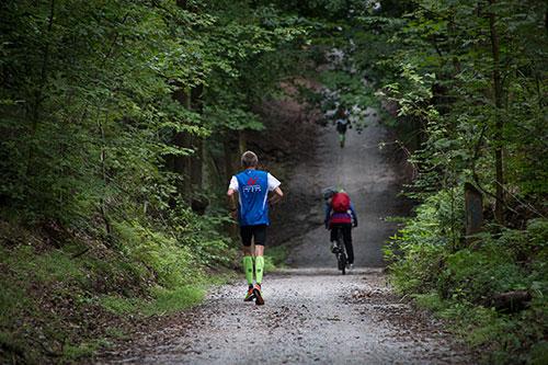 Mauerwegläufer auf dem Weg nach Teltow