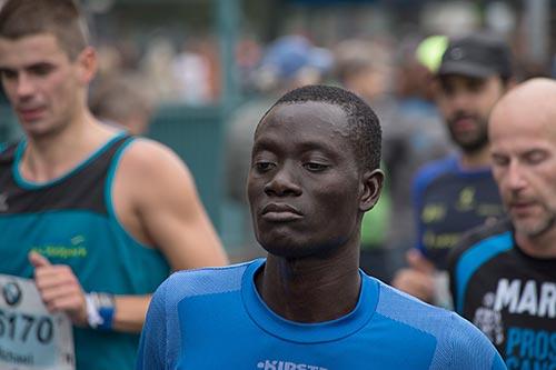 Konzentrierter Läufer