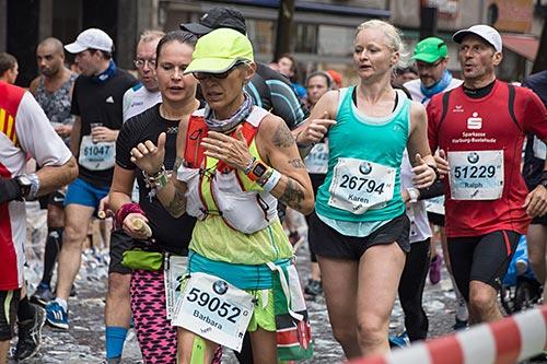 Marathon-Läufer beim Berlin-Marathon