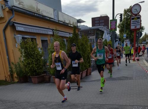 Schnelle Halbmarathon-Läufer