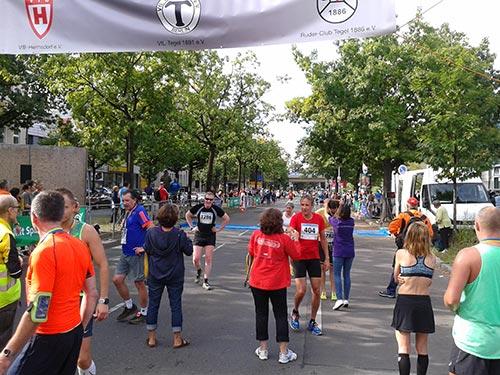 Zielbereich Tegel-Halbmarathon 2017