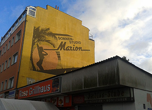 Werbung Sonnenstudio