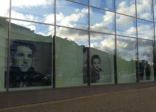 Spiegelung am Tempelhofer Hafen
