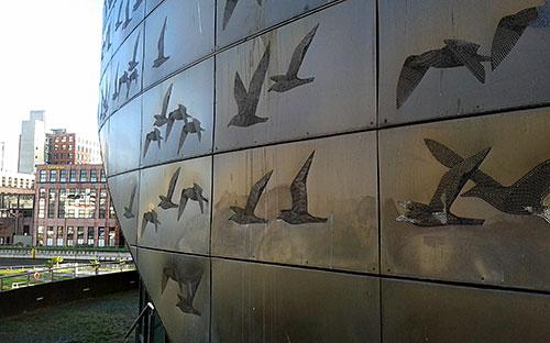 Detail am Tempelhofer Hafen