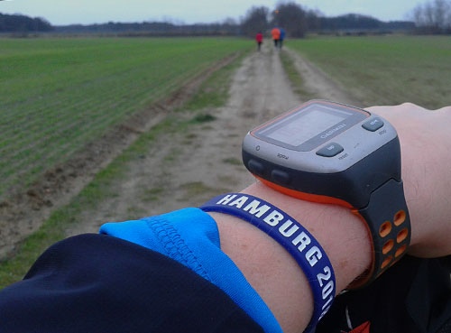 Läuferarm mit Armband Hamburg 2018