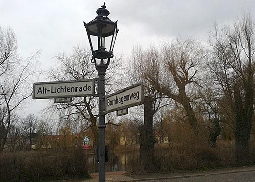 Alt-Lichtenrade und der Lichtenrader Dorfteich