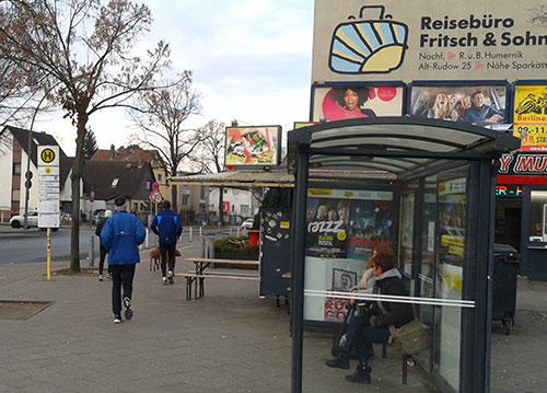 Läufer in Rudow