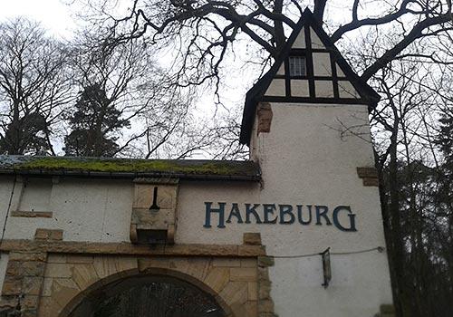 Eingang Hakeburg