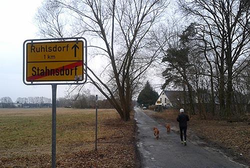 Läufer in Ruhlsdorf