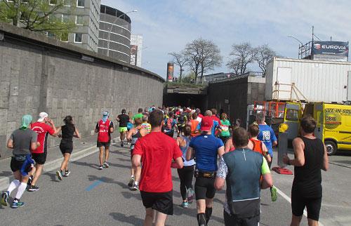 Am eingang zum Wallringtunnel