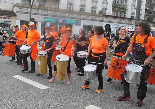 Eine weitere Sambagruppe