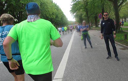 Zuschauer auf den letzten Kilometern