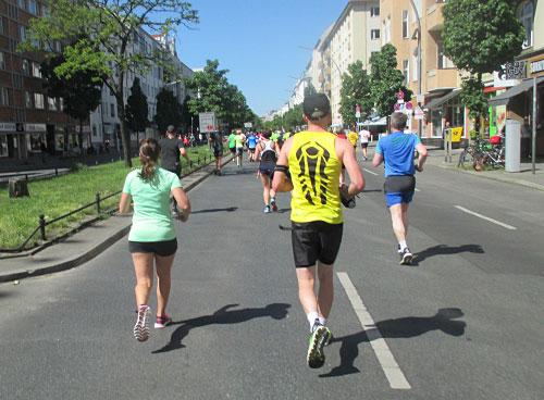 Läufer auf der Kantstraße