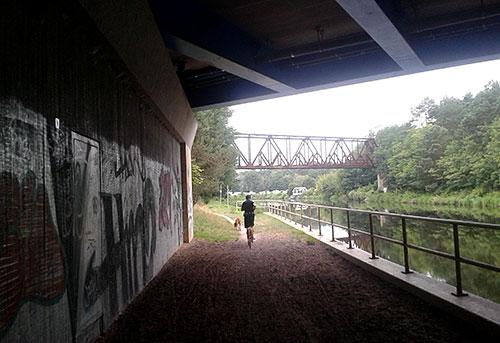 Brücken am Teltowkanal