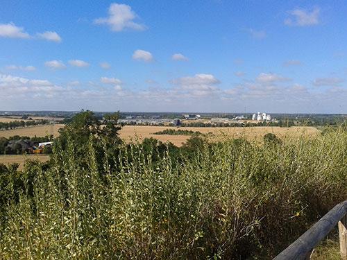 Aussicht vom Dörferblick
