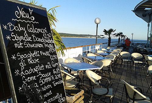 Restaurant auf der Seebrücke Heringsdorf