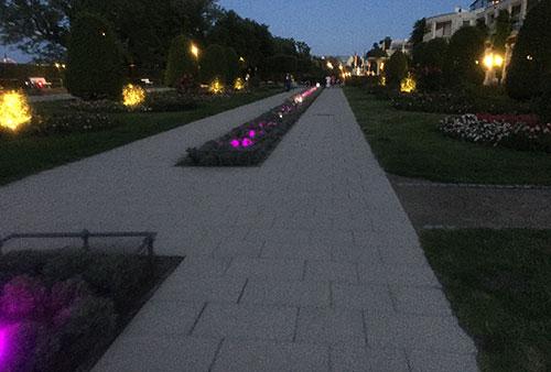 Gartenanlagen in Heringsdorf