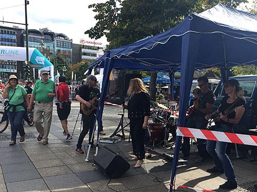 Rockband am Wittenbergplatz