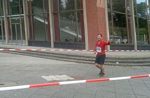 Läufer beim Tegel-Halbmarathon