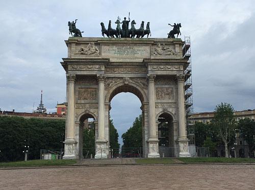 Arco della Pace (Triumphbogen bzw. Friedensbogen)