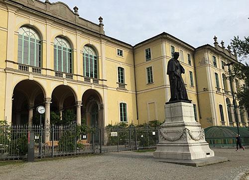 Palazzo Dugnani im Giardini Pubblici Indro Montanelli